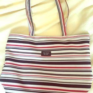 Kate Spade tote bag (colorful striped)